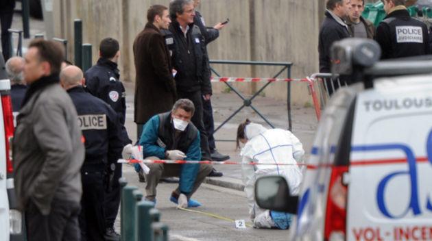 Dodsskjutning vid judisk skola i frankrike