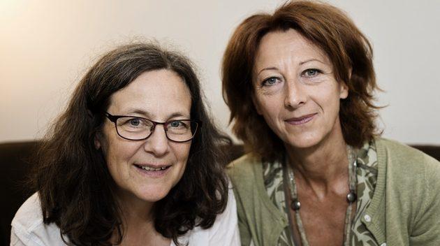 c6649f5d825 Verksamhetsledare Anna Simberg (till vänster) och styrelsens ordförande  Gunilla Hemming firar Labbets nya lokal men påpekar att framtiden för  föreningen ...