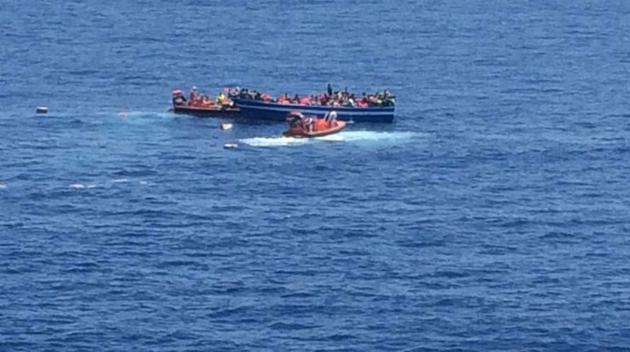 Nordiska fartyg raddade migranter