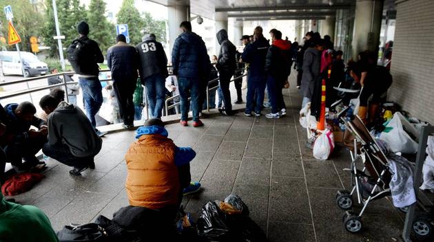 Brak i flyktingforlaggning